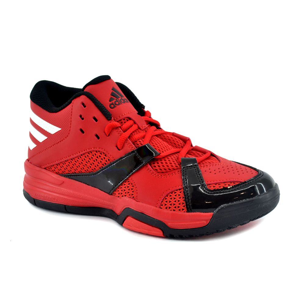 meet 09037 46c00 Zapatilla Adidas Hombre First Step Basquet Rojo Negro Blanco - ferreira