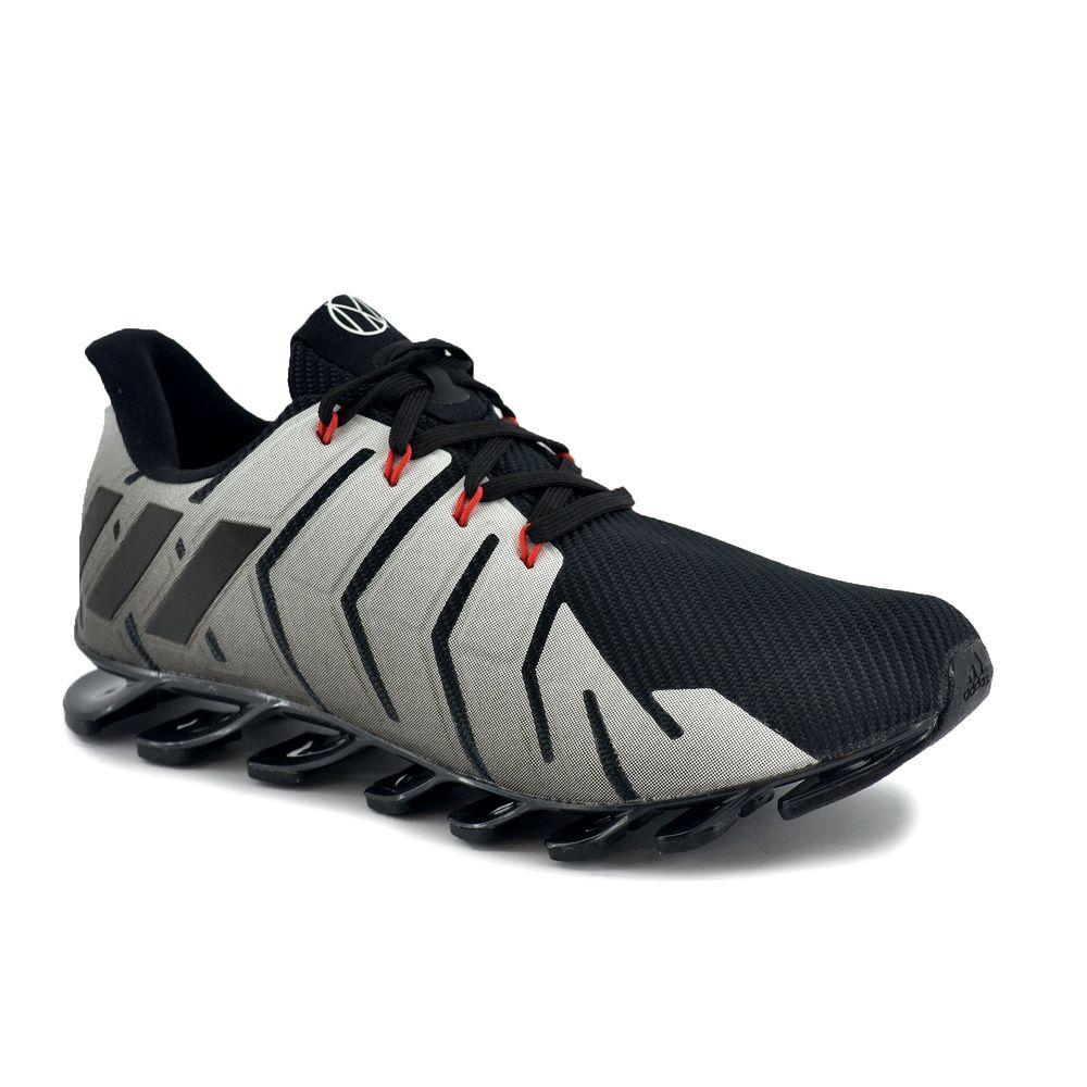 4e3ac61057 Zapatilla Adidas Hombre Springblade Pro Cny Running Negro/Gris ...