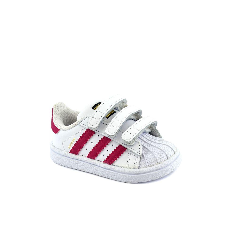 Zapatillas Superstar Cf Bebe Adidas I Blancofucsia 0wP8ONnkX