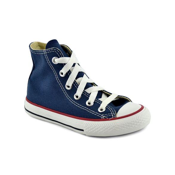 Girar exposición Intacto  Zapatillas Converse | Zapatilla Converse Niño Chuck Taylor All Star Hi  Azul/Blanco - FerreiraSport