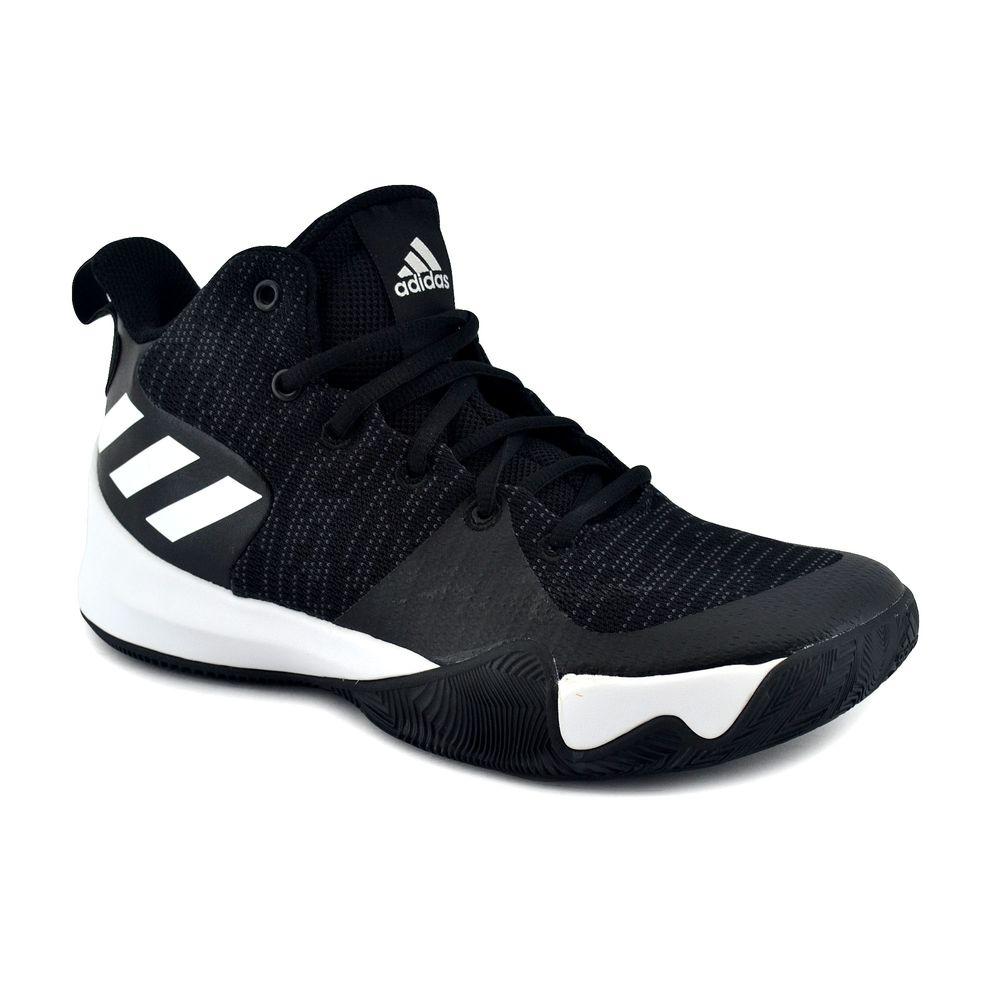 d66b85bfc6 Zapatilla Adidas Hombre Explosive Flash Basquet Negro/Blanco ...