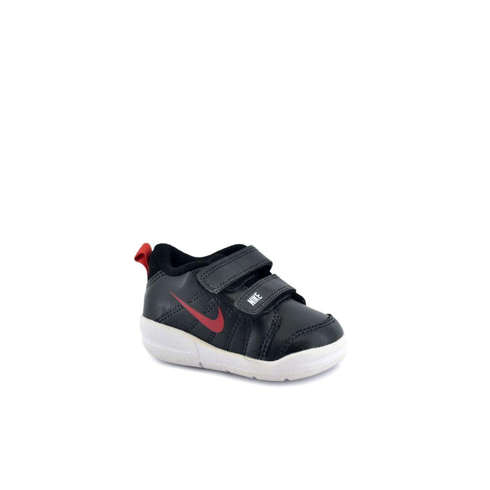 404a0fc9fe Zapatilla Nike Bebe Pico Lt Tdv Negro/Blanco/Rojo - Ferreira Sport ...