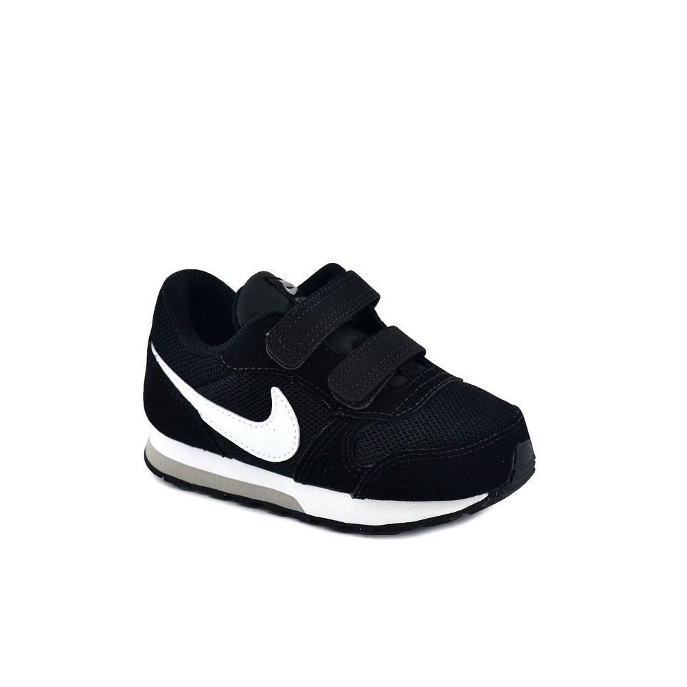 Zapatillas Nike MD Runner 2 negro rosa blanco