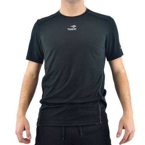 REMERA-TOPPER-HOMBRE-RUNNING-NEGRO