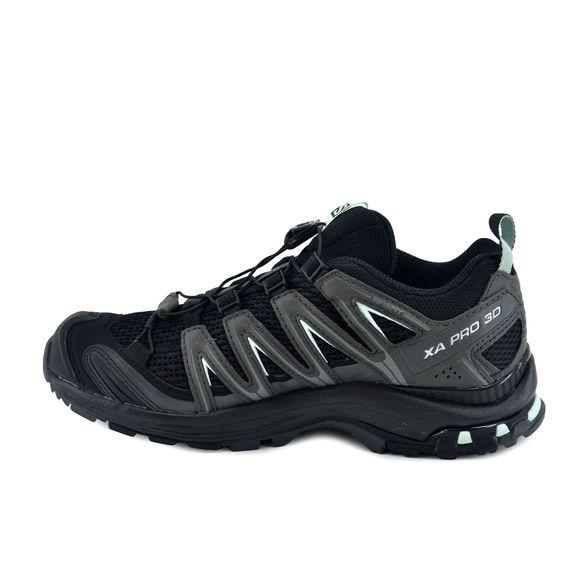 zapatillas senderismo salomon mujer negras