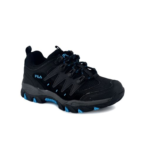 ZAPATILLA-FILA-NIÑO-STRAINER-KIDS-TRAINING-NEGRO-AZUL
