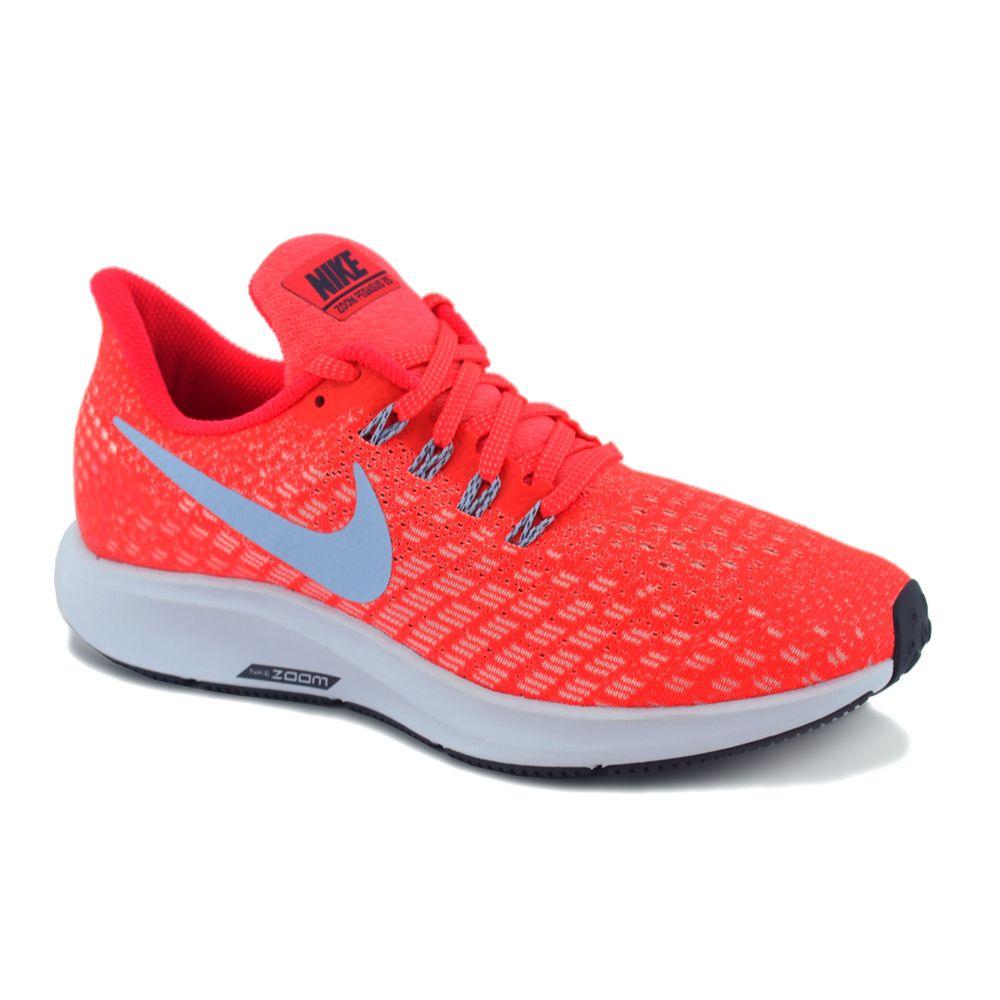 intermitente frente Plasticidad  Zapatilla Nike Mujer Air Zoom Pegasus 35 Running Naranja - Ferreira Sport  Online