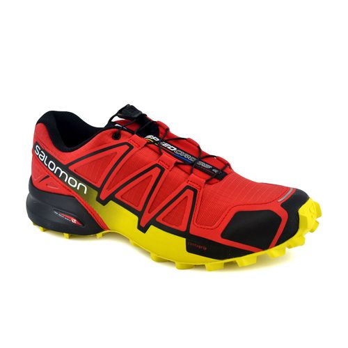 Zapatilla-Salomon-Hombre-Speedcross-4-Rojo-Negro-Amarillo