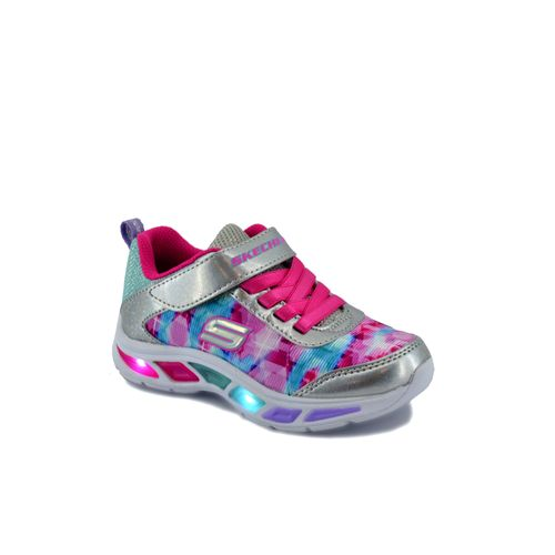 Zapatilla-Skechers-Niño-Dance-N-Glow-Multicolor