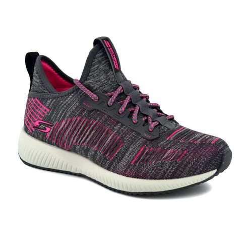Zapatilla-Skechers-Mujer-Catch-Us-Running-Gris-Rosa
