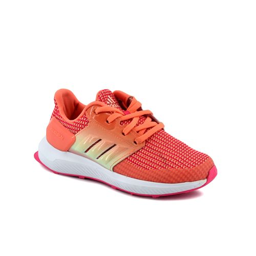 Zapatilla-Adidas-Niño-Rapidarun-K-Running-Coral