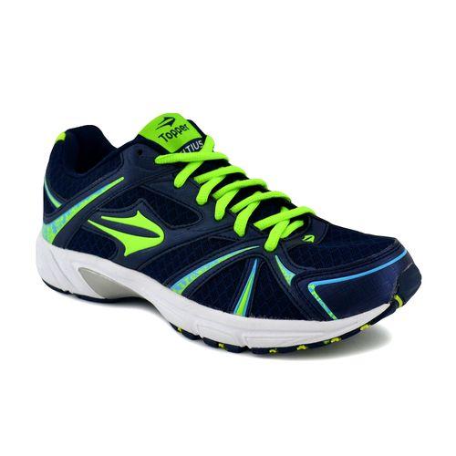 Zapatilla-Topper-Hombre-Citius-Running-Azul-Verde-Fluo-Celeste