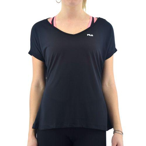 Remera-Fila-Mujer-Blusa-Fem-Dots-Negro