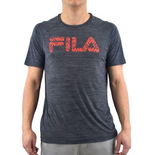 Remera-Fila-Hombre-Camiseta-Masculina-Hybrid-Print-Grafito
