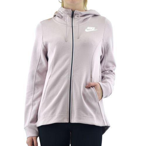 Campera-Nike-Mujer-W-Nsw-Av15-Hoodie-Fz-Gris