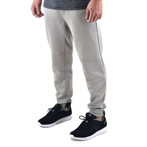 Pantalon-Reebok-Hombre-Ts-Knit-Jogger-Gris-Melange