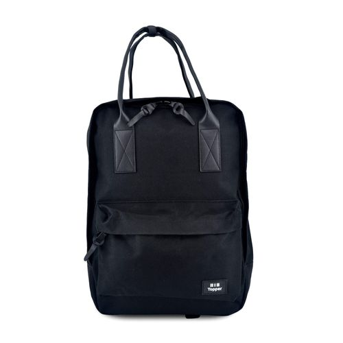 Mochila-Topper-Unisex-Travel-Casual-Negro
