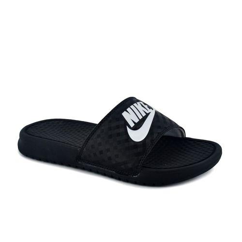 Chinela Nike Mujer Benassi JDI Negro