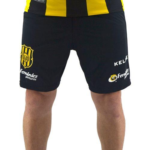 Short-Kelme-Hombre-Juego-Home-Futbol-Olimpo-2018-2019-Negro-Frente