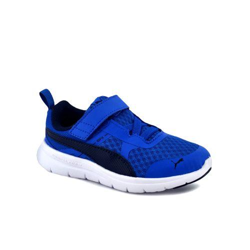 Zapatilla-Puma-Nino-Flex-Essential-V-Ps-Adp-Azul-Principal