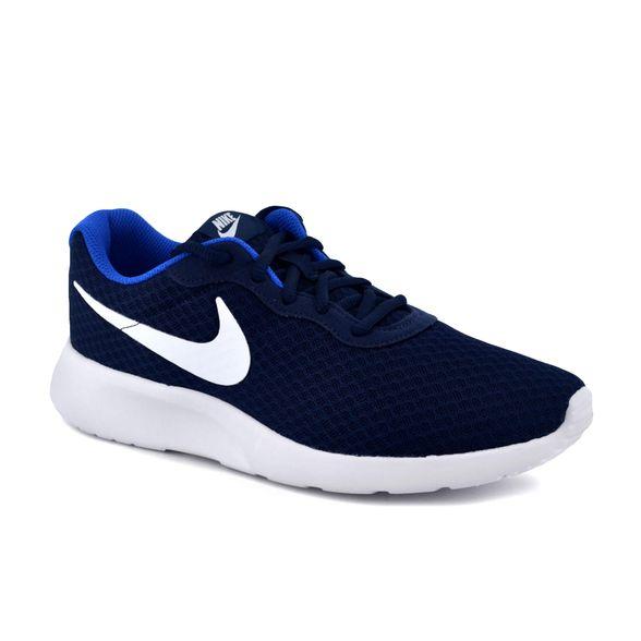 Revisión Reverberación Derivar  Zapatilla Nike Hombre Tanjun Azul/Blanco - FerreiraSport