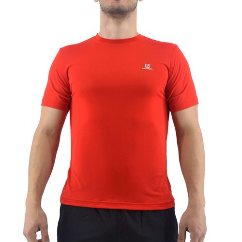 Remera-Salomon-Hombre-Xa-Lite-Ss-Running-Rojo-Principal
