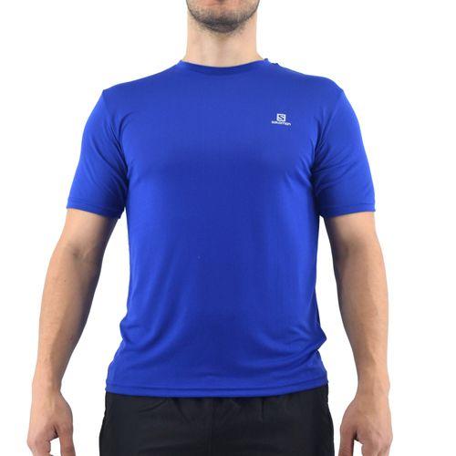 Remera-Salomon-Hombre-Xa-Lite-Ss-Running-Azul-Principal
