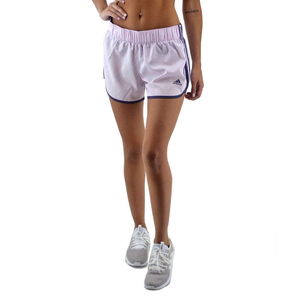 be018156d Short Adidas Mujer M10 Running Rosa Negro - ferreira