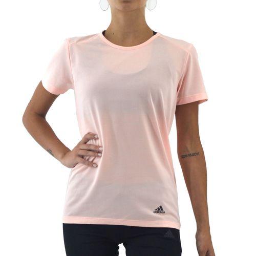 Remera-Adidas-Mujer-Run-Tee-W-Salmon-Negro