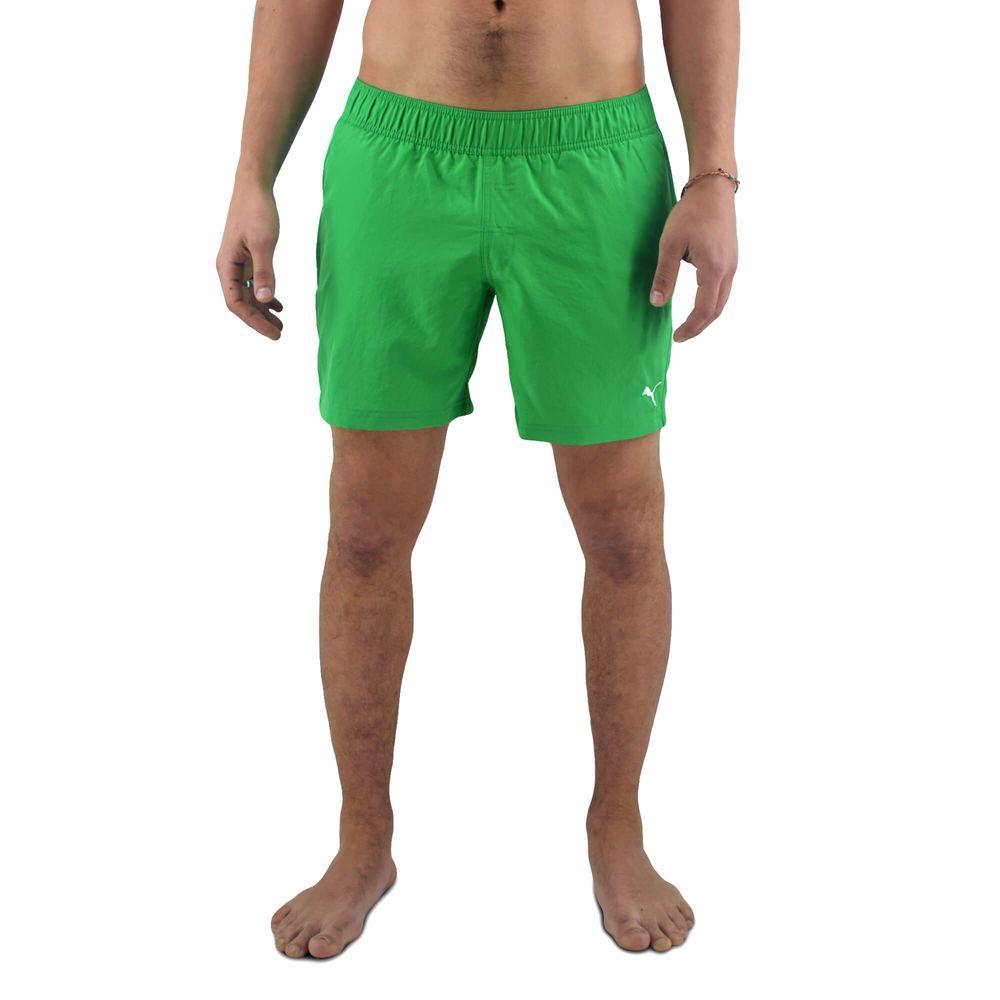 828775ab3a27 Short De Baño Puma Hombre Active Cat Logo Verde