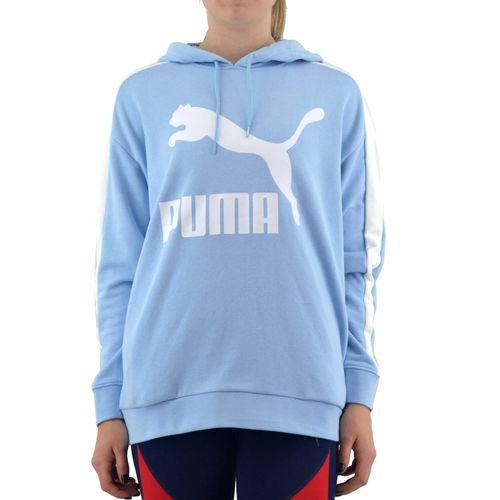 Buzo-Puma-Mujer-Classic-Logo-Celeste-Principal