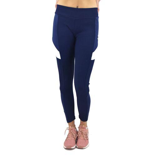 Calza-Puma-Mujer-Retro-Rib-Legging-Azul-Principal