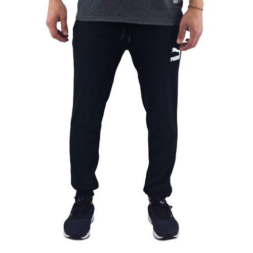 Pantalon-Puma-Hombre-Classic-Sweat-Cuffstr-Negro-Principal