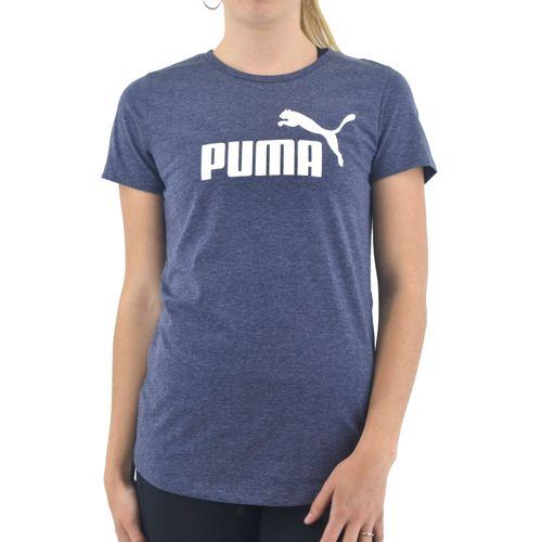 Remera-Puma-Mujer-Essentials-Logo-Heather-Azul-Principal