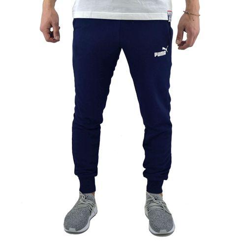 Pantalon-Puma-Hombre-Essentials-Slim-Tr-Azul-Principal