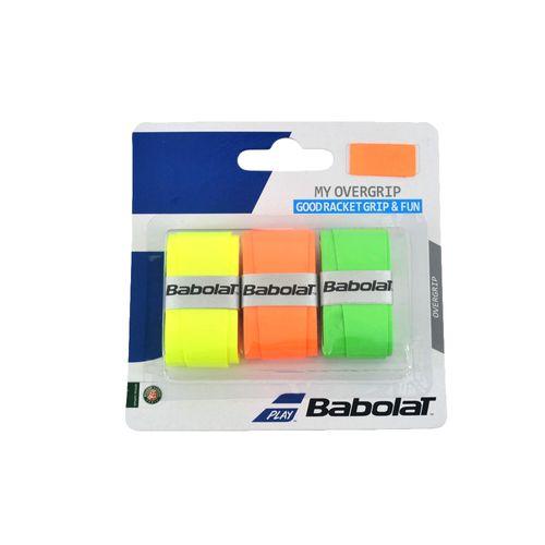 Grip-Babolat-Unisex-My-Overgrip-X3-Tenis-Surtido-Amarilllo-Naranja-Verde
