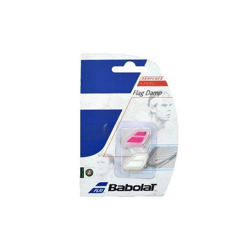 Antivibrador-Babolat-Unisex-Flag-Damp-X2-Tenis-Fucsia-Blanco