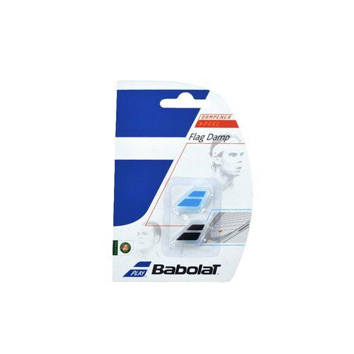 Antivibrador-Babolat-Unisex-Flag-Damp-X2-Tenis-Celeste-Negro