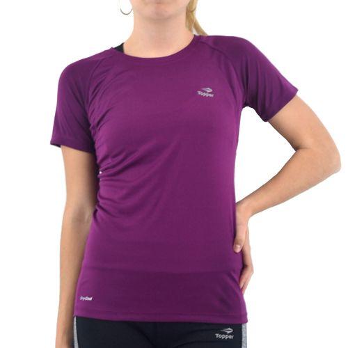 6fc7c28e41b 4749 Remera Topper Mujer Trng Running Violeta