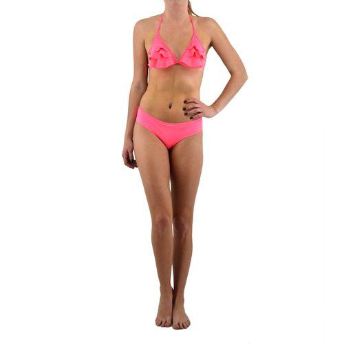 Bikini Sun Day Piedra De Mar Mujer Triangulo Liso Con Volados