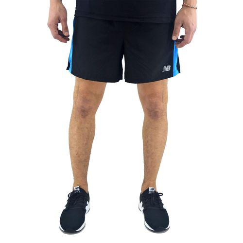 Short-New-Balance-Hombre-Accelerate-5-Inch-Negro-Principal