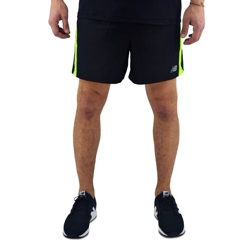 Short-New-Balance-Hombre-Accelerate-5-Inch-Negro-Verde-Principal