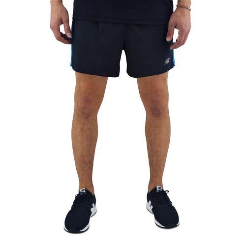 Short-New-Balance-Hombre-5-Inch-Track-Training-Negro-Azul-Principal