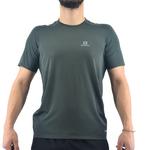 Remera Salomon Hombre Trail Runner Ss Surf The Web