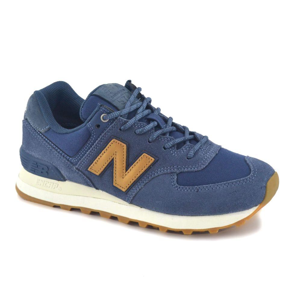 zapatillas new balance azules mujer
