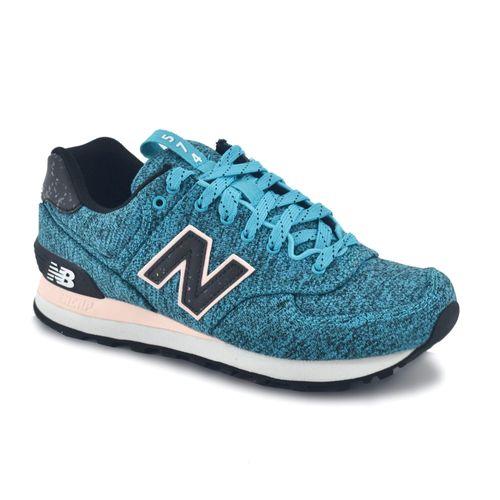 Zapatilla-New-Balance-Mujer-Wl574Ptc-Celeste-Negro-Principal