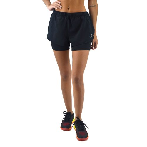 Short-Reebok-Mujer-2-In-1-Training-Negro-Principal