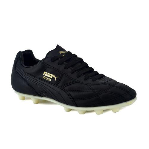 Botin-Puma-Borussia-Classic-FG-con-tapones-Negro-Principal