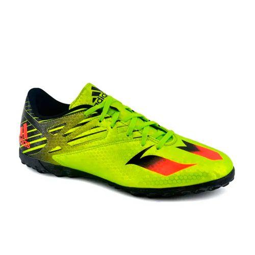Botin-Adidas-Hombre-Messi-15-4-Entrenamiento-Verde-Principal
