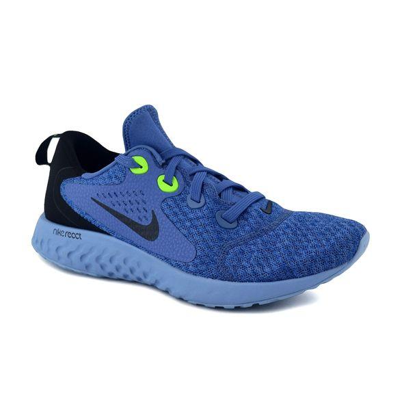 zapatillas nike hombre running azul